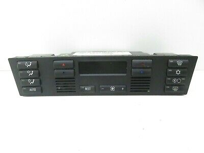Bmw 5 Series E39 A/c Heater Climate Control Panel 6901628.9