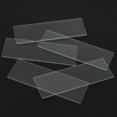 5x 1mm Concave Cavity Glass Coverslips Microscope Slides Set Thickness Lab Tool