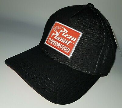 06773e52d0912 Disney Store Toy Story Pizza Planet Embroidered Baseball Hat Cap Curved  Peak NEW