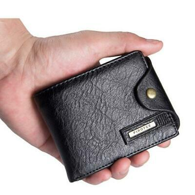 Soft Men Bifold Leather Wallet Coin Bag Pocket Purse Credit Card Pouch Holder HY