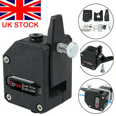 Cloned Bowden Extruder Dual Drive Extruder Supplies for 3D Printer UK STOCK HOT