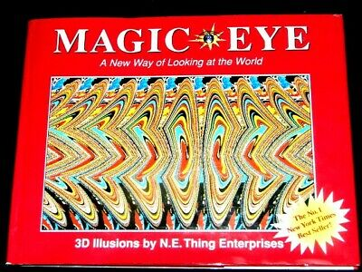 MAGIC EYE - A New Way of Looking at the World 1993 US 1st/First hb dw 3D puzzle