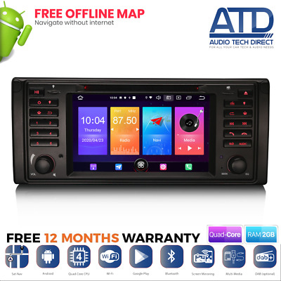 "7"" GPS Radio Sat-Nav DVD BT USB CD Stereo For Range Rover L322 Vogue HSE (02-04)"