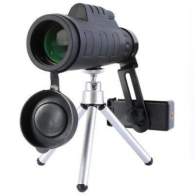 50X60 Zoom Optical HD Lens Monocular Telescope Tripod Clip For Mobile Phone YEH