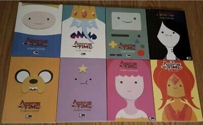 Adventure Time: The Complete Seasons 1-8 DVD 1 2 3 4 5 6 7 8