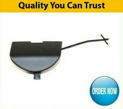 FIAT 500 2007-2014 FRONT BUMPER TOWING EYE COVER PRIMED BRAND NEW