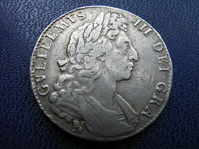 William III 1697 Halfcrown Norwich NONO
