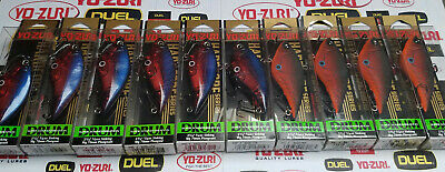 Very rare Yo-Zuri Hardcore Drum - lot of 10 pcs, colors MDD and CTR (model R820)