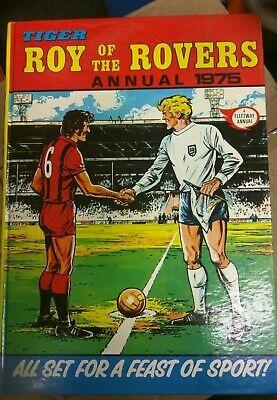 Tiger Roy of the Rovers Annual 1975 - Pre-loved