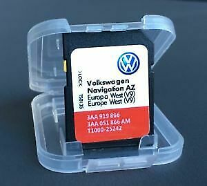 2018 Volkswagen RNS 315 NAVIGATION SD CARD  Europe SAT NAV MAP UPDATE VW