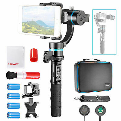 Neewer NW3D2 3-Axis Handheld Gimbal Stabilizer Kit for GoPro Smartphone