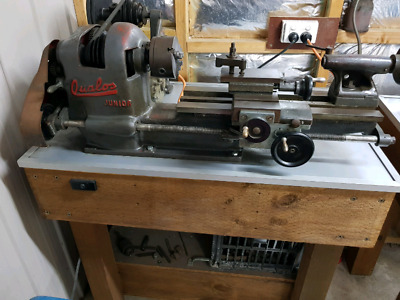 Qualos metal lathe with heaps of accessories