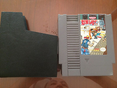 Renegade (Nintendo Entertainment System, 1988) NES Game Cart Only