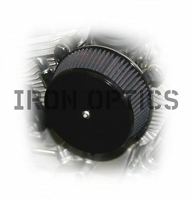 """IRON OPTICS"" universeller Luftfilter Deckel Cover Harley Davidson V-Rod"