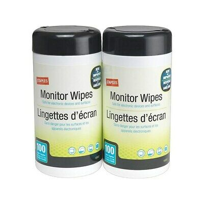 Staples Screen Cleaner Wipes 200/Pack (16990) 775489