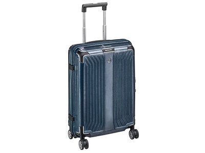 Original Mercedes-Benz Koffer Lite-Box Spinner 55 blau Samsonite