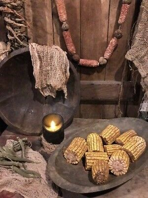 Primitive Dried Corn FALL Bowl Fillers Early Look Pantry Homestead Cupboard Tuck