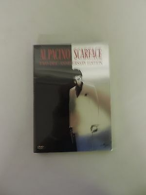 Scarface Two-Disc Anniversary Edition Dvd Factory Sealed Al Pacino Classic