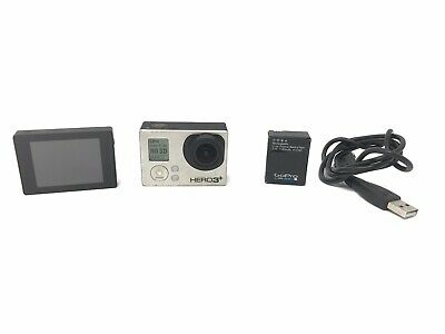 GoPro HERO3+ Black Edition Camcorder -  Black - With Screen & Extra Battery