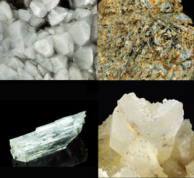 Set of four minerals #5