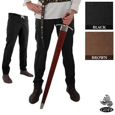 Medieval Style Hose with drawstring and button front Costume Re-enactment & LARP