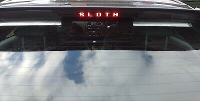"2007 ""your Name Logo"" Focus St Mk2 3Rd Third Brake Light Sticker Overlay"