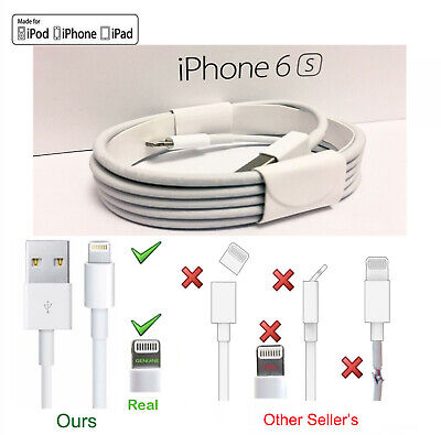 OEM Original Lightning to USB Charging Cable for Apple iPhone 5 6 7 8 X XS XR