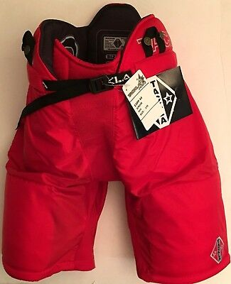 Some Jr Sizes Ice Hockey Jr Pant Red Tackla Model EXPP55 w//zips