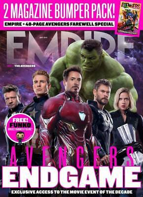 Empire Magazine May 2019 (Avengers- Endgame + Avengers Farewell Mag Special) New