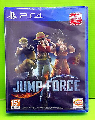 Neuf Ps4 Jump Force Hk, Chinois Dragon Ball X One Piece X Naruto X Saint Seiya