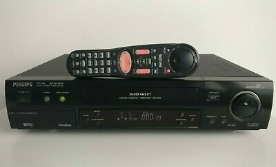 Philips VR1100 S-VHS Super VHS VCR TBC DNR for best digital transfer, JVC engine