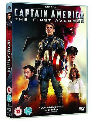 Captain America The First Avenger Hayley Atwell, Hugo NEW REGION 2 FREE UK POST