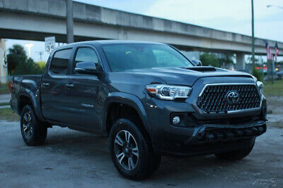 2019 Toyota Tacoma TRD Sport 4x4 4dr Double Cab 5.0 ft SB 6A 2019 Toyota Tacoma TRD Sport 4x4 4dr   CLEAN TITLE,REBUILDER,REPAIRABLE,FIXE