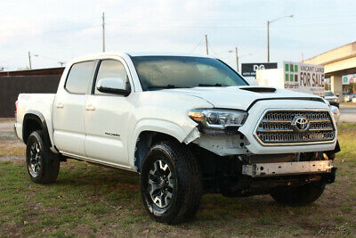 2016 Toyota Tacoma TRD Off Road 4x4 4dr Double Cab 5.0 ft SB 6A 2016 Toyota Tacoma TRD Off Road 4x4 4dr Salvage, repairable, rebuildable ,damage