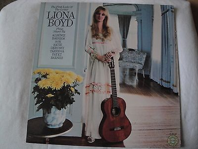 The First Lady Of The Guitar Liona Boyd Vinyl Lp 1979 Columbia Masterworks Ex