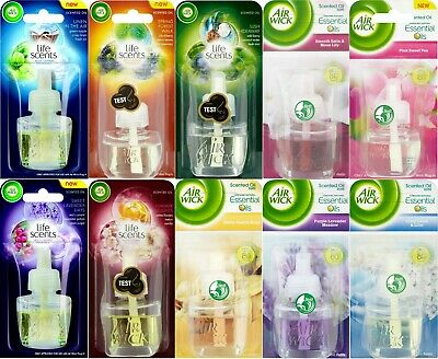 Air Wick Plug In Refills Fragrance, 1x/3x/6x Packs, Choose Your Favourite