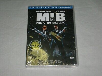 Men In Black - Deluxe Collector's Edition - Brand New & Sealed - Region 4 - DVD