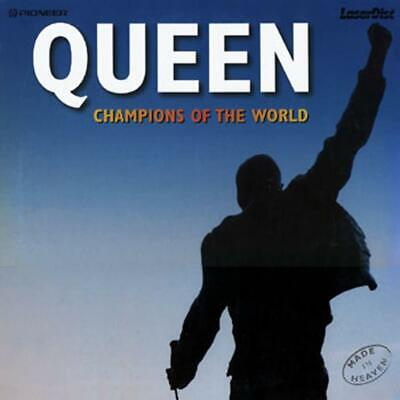 Queen - Champions Of The World - Made In Heaven Clv Pal Laserdisc