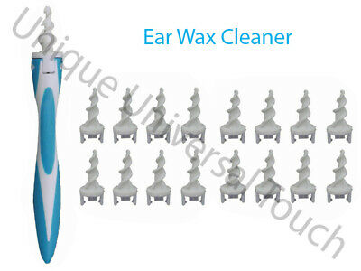 Ear Wax Safe Spiral New Soft Tool Removal Swab Cleaner Earwax Remover Earpick