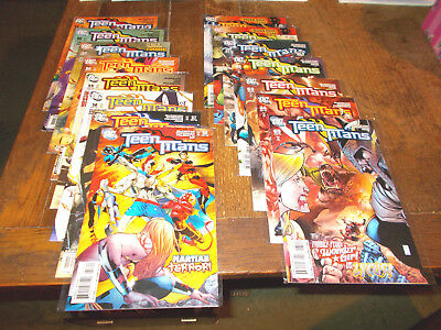 Teen Titans (2003 series) - Complete run 51-100 + An1 + 2 others DC Most VFN