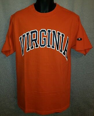 b0ce00da VIRGINIA CAVALIERS ORANGE Arch T-Shirt NWOT - Mens Large Slim Fit ...