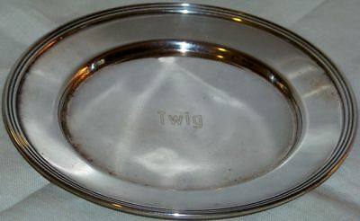 "Vintage Signed FB Rogers 6"" Trophy Tray"