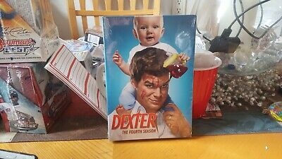 Dexter:The Fourth Season 4(DVD,2010,4-Disc Set) Brand New Factory Sealed!