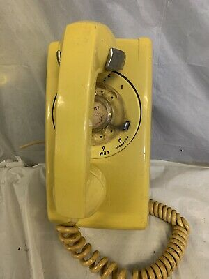 VINTAGE BELL SYSTEM Western Electric Rotary Telephone Red