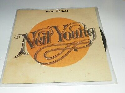 Neil Young- Heart Of Gold/Sugar Mountain-Germany 45 With Cover -Unplayed