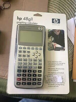 HP 48GII Graphing Calculator User/'s Manual from dealer