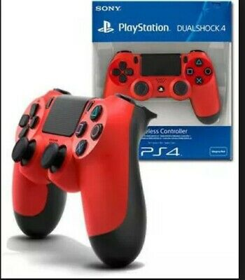 Sony DualShock 4 PS4 Wireless Controller - Red V2