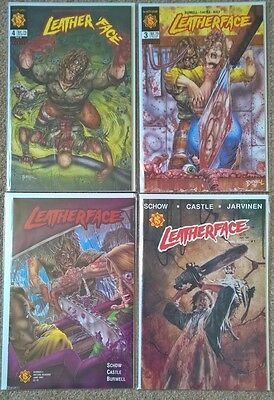 Northstar Leatherface 1-4 complete set very rare HIgh Grade