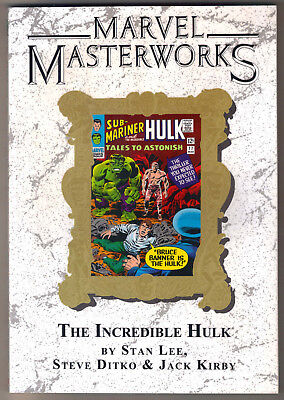 Marvel Masterworks Incredible Hulk Vol 2 TPB MMW * DM variant 39 Lee Kirby Ditko