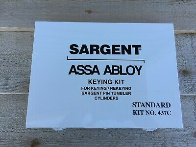 SARGENT ASSA ABLOY Keying Pinning Kit 437C Standard Fast Free Shipping!